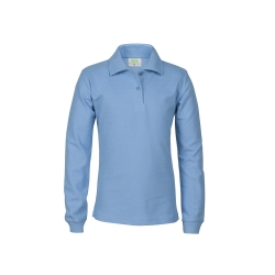 Poloshirt long sleeves, Girls